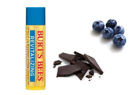 burt bees blueberry and dark chocolate