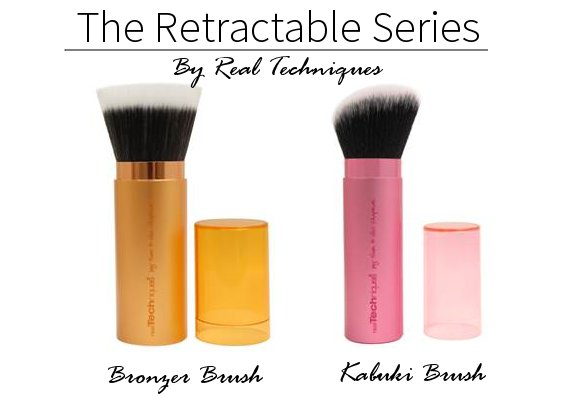 real techniques retractable brushes