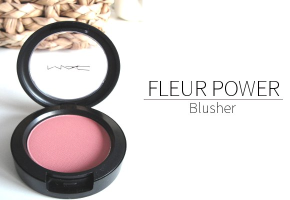 mac fleur power blusher
