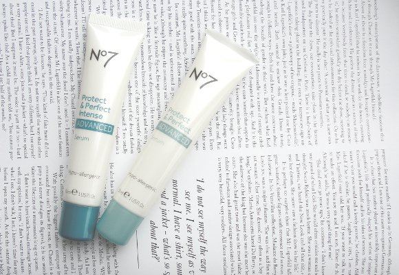 No7 Protect & Perfect Protect Advanced Serum & Advanced Intense
